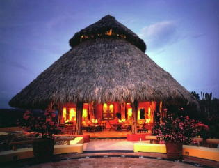 Large Palapa living area