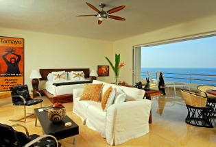 Master suite with view of Banderas Bay.