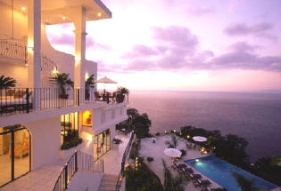 Fabulous villa with view of Banderas Bay.